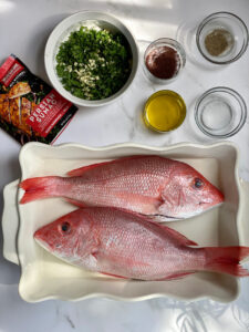 red snapper prep