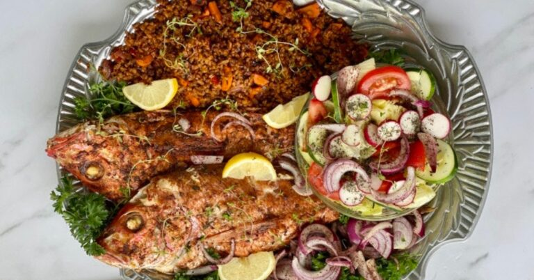 Red Snapper with Persian Sumac Recipe