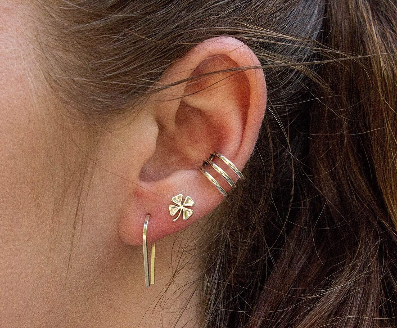 jewelry trends-cuff earrings.