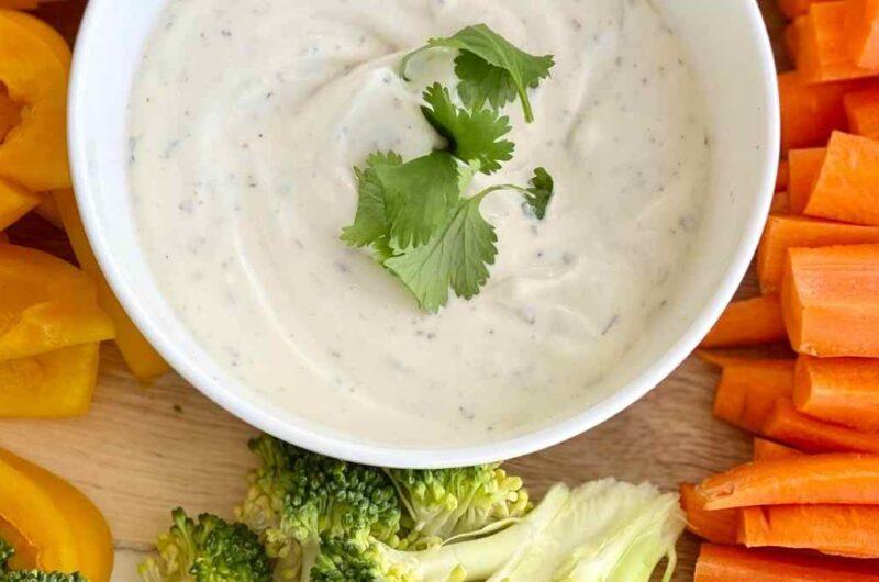 Easy Homemade Veggie Dip